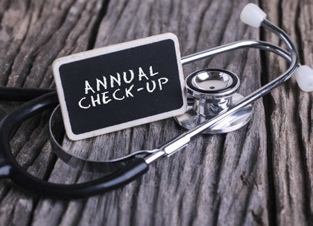rethink your office's annual checkup