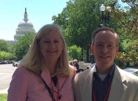 Mary Prendergast at Legislative Day