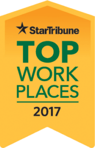 Twin Cities Star Tribune Top Workplaces 2017