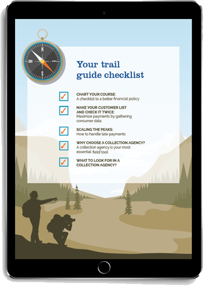 Your trail guide checklist displayed on a tablet