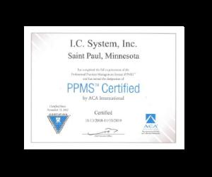 ACA's PPMS Certification