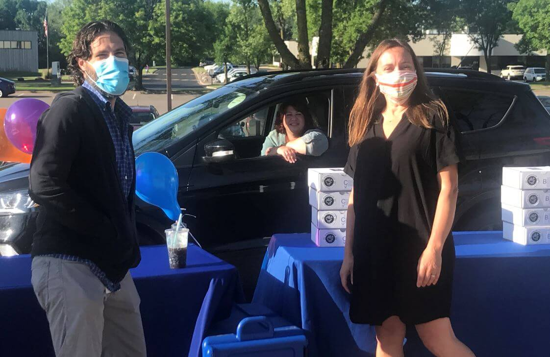 IC System Drive-Thru Event socially distanced